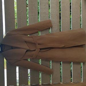 Booboo Women Italian Fall Coat Ladies Oversized Drape Open Long
